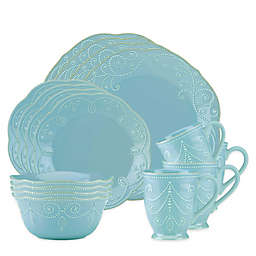 Lenox® French Perle 16-Piece Dinnerware Set in Robin's Egg