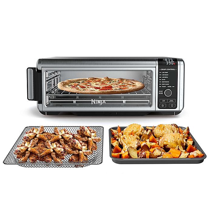 Alternate image 1 for Ninja® SP101 Foodi™ 8-in-1 Digital Air Fry Oven, Flip-Away for Storage, Dehydrate, Keep Warm