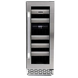 Whynter Elite17-Bottle Stainless Steel Dual-Zone Wine Refrigerator