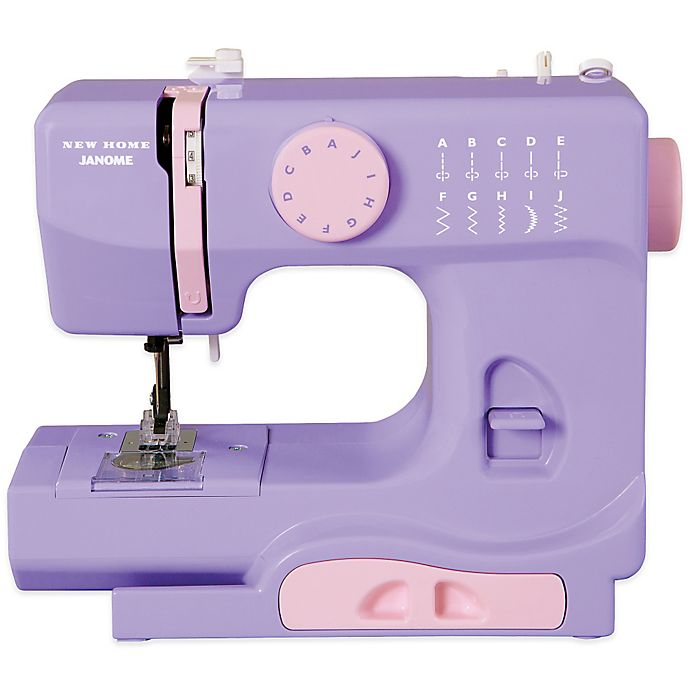 Alternate image 1 for Janome Lady Lilac Portable Sewing Machine