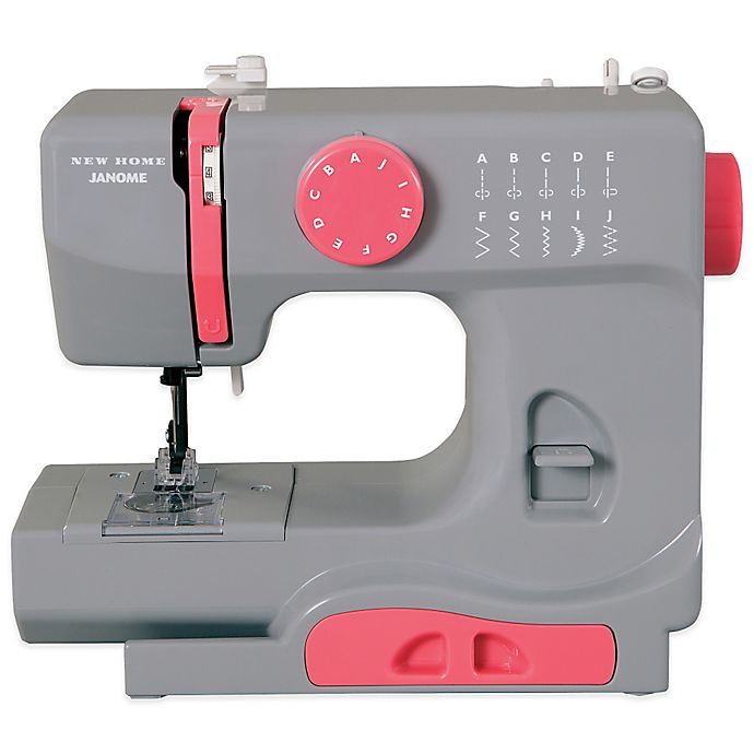 Alternate image 1 for Janome Graceful Grey Portable Sewing Machine