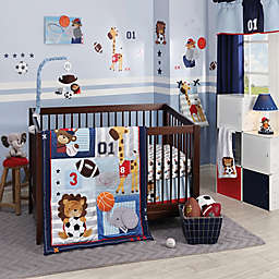Lambs & Ivy® Future All Star 4-Piece Crib Bedding Set