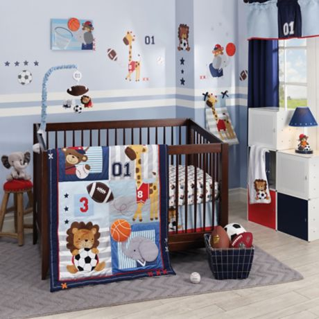 Lambs Ivy Future All Star Crib Bedding Collection