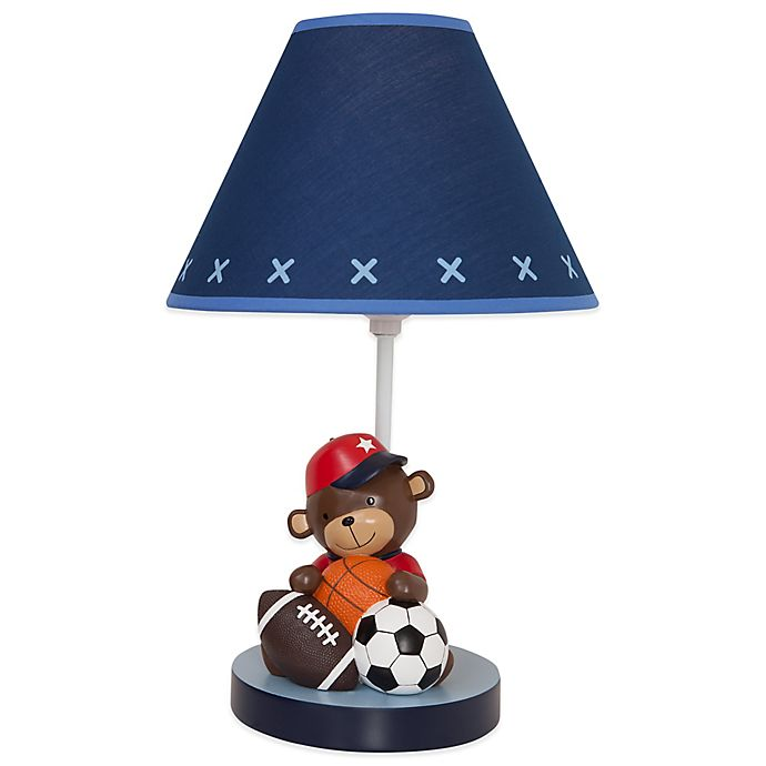Alternate image 1 for Lambs & Ivy® Future All Star Lamp Base and Shade