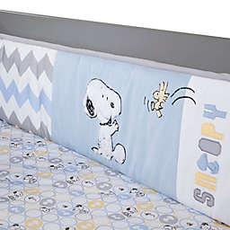 Lambs & Ivy® My Little Snoopy™ 4-Piece Crib Bumper Set