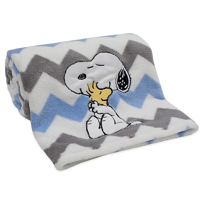 Alternate image 1 for Lambs & Ivy® My Little Snoopy™ Blanket