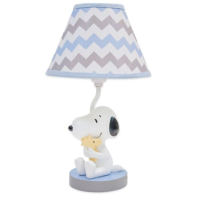 Alternate image 1 for Lambs & Ivy® My Little Snoopy™ Lamp Base with Shade