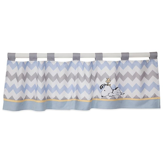 Alternate image 1 for Lambs & Ivy® My Little Snoopy™ Window Valance