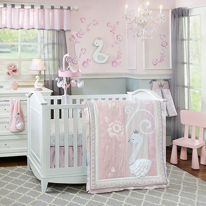Alternate image 1 for Lambs & Ivy® Swan Lake Crib Bedding Collection