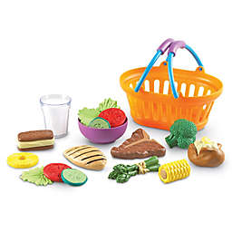 Learning Resources 18-Piece New Sprouts Dinner Basket Set