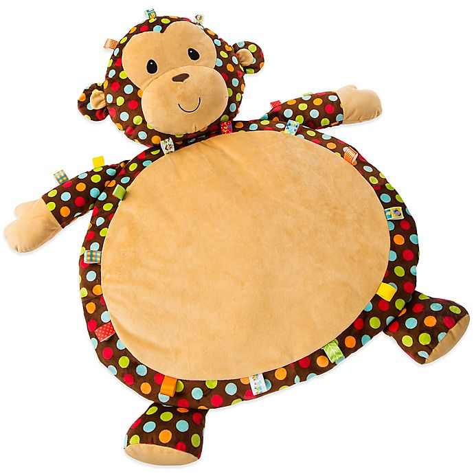 Alternate image 1 for Taggies™ Dazzle Dot Monkey Baby Mat