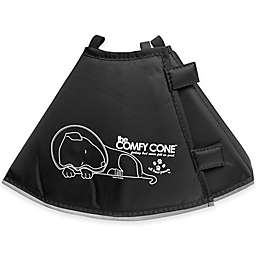 All Four Paws™ Long Small The Comfy Cone in Black