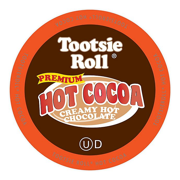 Alternate image 1 for Tootsie Roll® Premium Hot Cocoa Pods for Single Serve Coffee Makers 18-Count