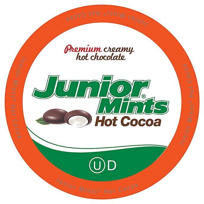 Alternate image 1 for 18-Count Junior Mints® Mint Hot Cocoa for Single Serve Coffee Makers
