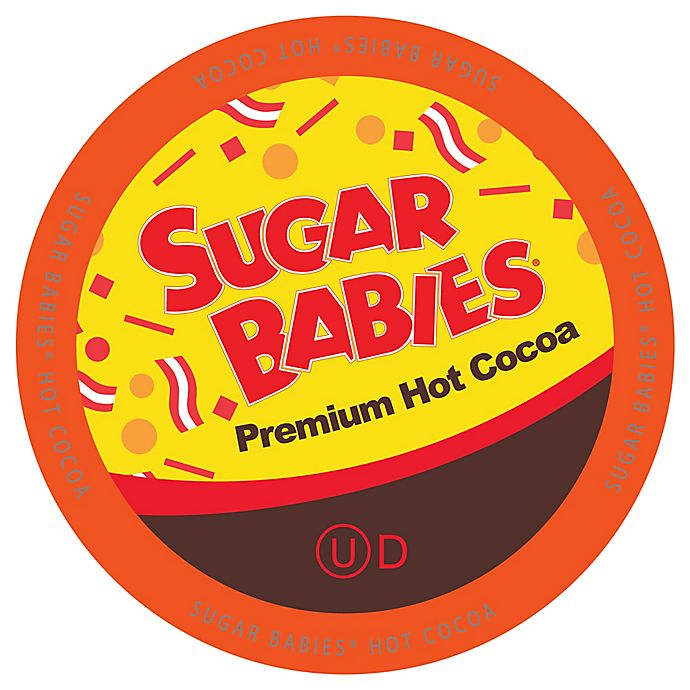 Alternate image 1 for 18-Count Sugar Babies® Caramel Hot Cocoa for Single Serve Coffee Makers