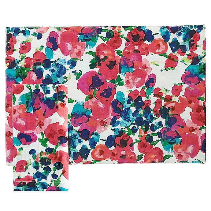 Alternate image 1 for kate spade new york Rosa Terrace Placemat and Napkin