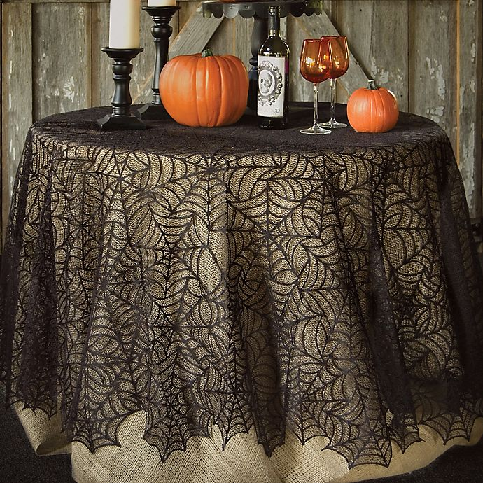 Heritage Lace® Spider Web 90-Inch Round Tablecloth In