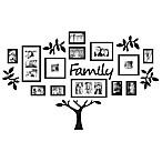 WallVerbs™ 19-Piece  Family  Tree Set in Black