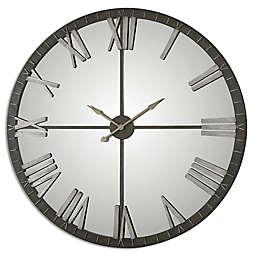 Uttermost Amelie 60-Inch Wall Clock in Bronze