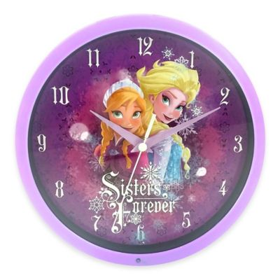 Disney 174 Quot Frozen Quot Musical Wall Clock Bed Bath And Beyond