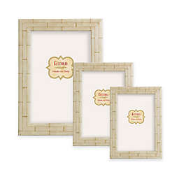 Eccolo™ Marquetry Wall Picture Frame in Bone