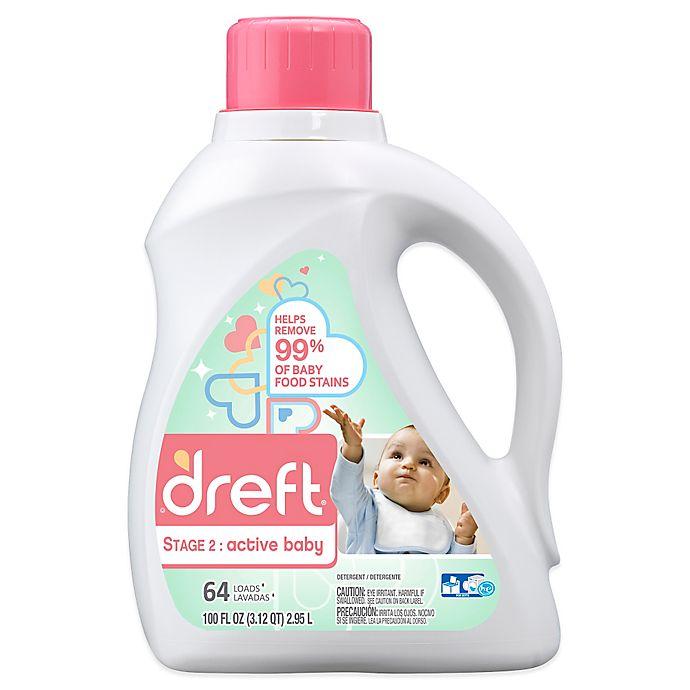 Alternate image 1 for Dreft Stage 2: Active Baby HEC Liquid Detergent