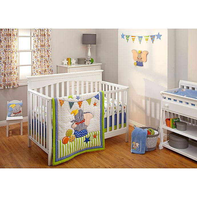 Disney 174 Dumbo Crib Bedding Collection Buybuy Baby
