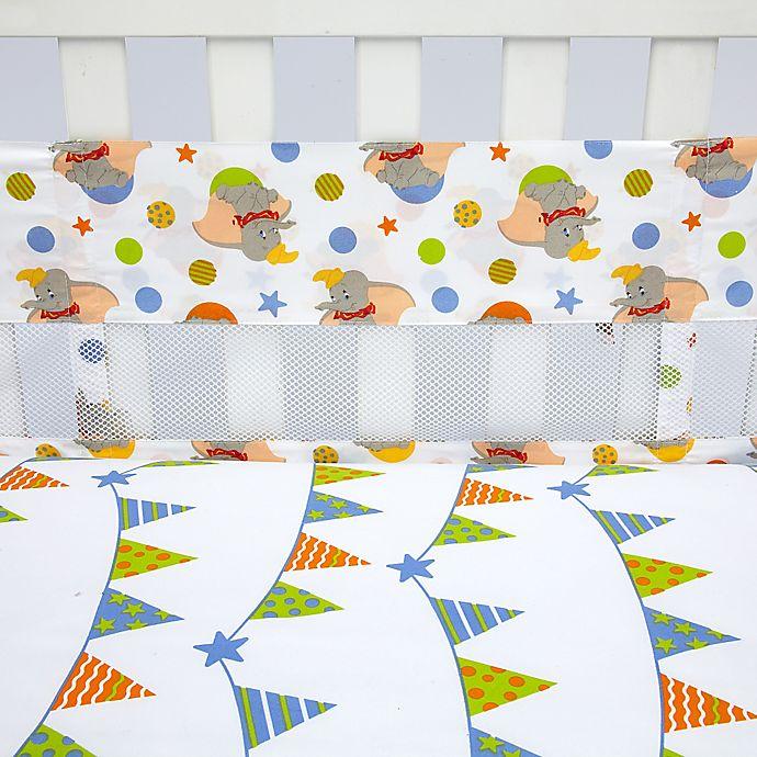 Alternate image 1 for Disney® Dumbo Secure-Me Mesh Crib Liner