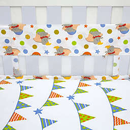 Disney® Dumbo Secure-Me Mesh Crib Liner
