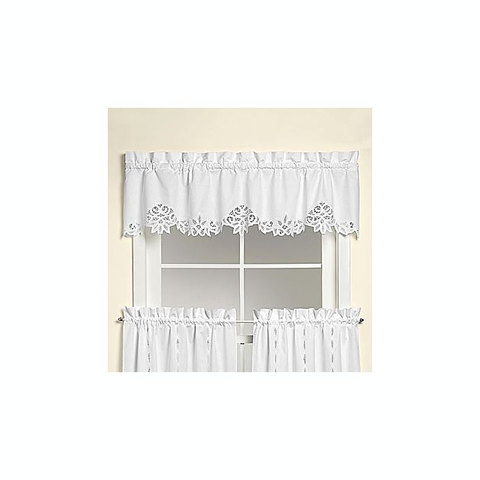 Battenburg Lace Valance Bed Bath And Beyond Canada