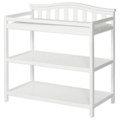 Child Craft Camden Changing Table In White Buybuy Baby