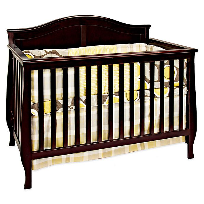 Alternate image 1 for Child Craft™ Camden 4-in-1 Convertible Crib in Jamocha