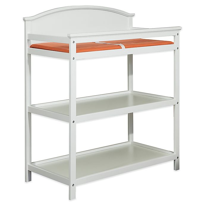 Alternate image 1 for Imagio Baby by Westwood Designs Harper Pine 3-Shelf Changing Table in White