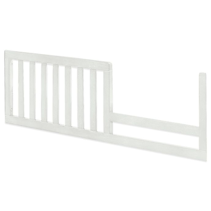 Alternate image 1 for Imagio Baby by Westwood Designs Harper Pine Toddler Guard Rail in White