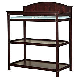 Imagio Baby by Westwood Designs Harper Pine 3-Shelf Changing Table in Chocolate