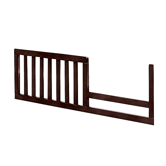Alternate image 1 for Imagio Baby by Westwood Designs Harper Pine Toddler Rail in Chocolate