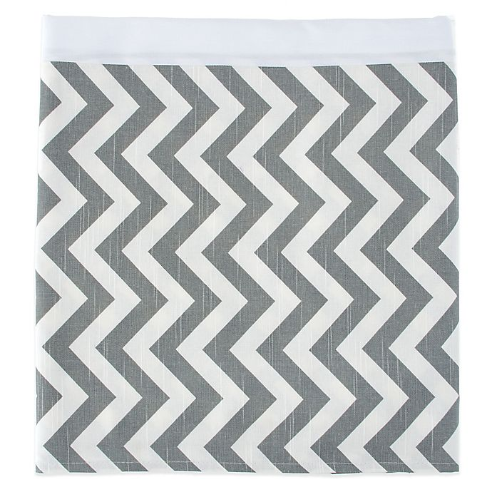 Alternate image 1 for Glenna Jean Swizzle Bed Skirt in Grey/White