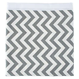 Glenna Jean Swizzle Bed Skirt in Grey/White