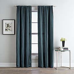 Fortuna Room Darkening Rod Pocket Window Curtain Panel (Single)
