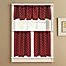 Part of the Lumberjack Window Curtain Tier Pair in Red
