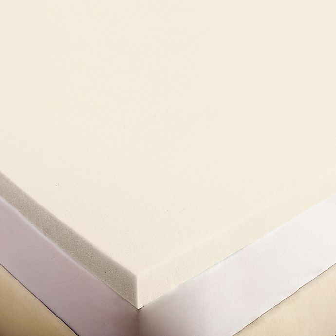 Authentic Comfort 2 Inch Memory Foam Mattress Topper