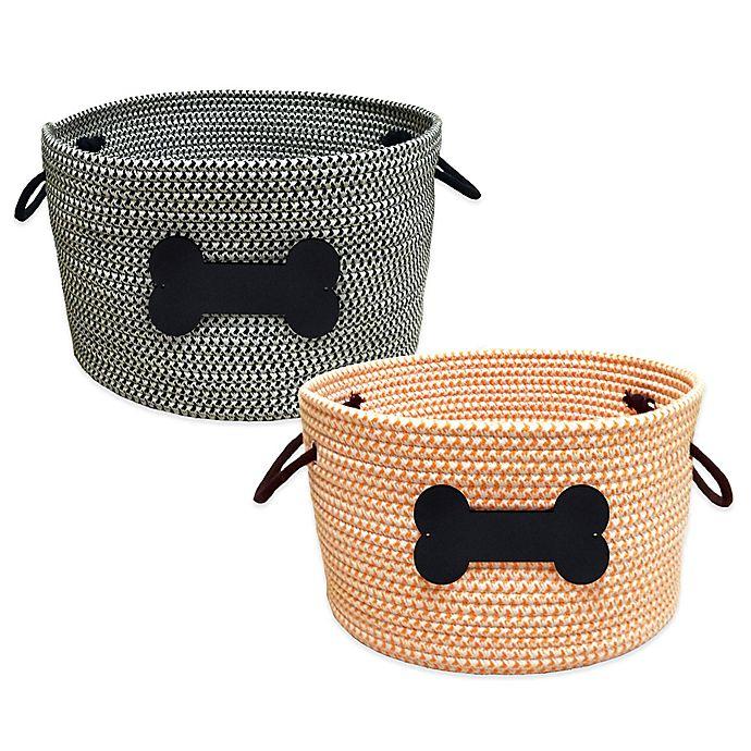 Alternate image 1 for Rope Pet Toy Storage Basket