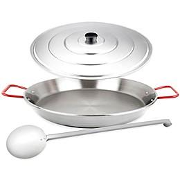 Magefesa® Carbon Steel Paella Pan Set