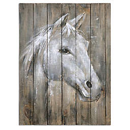 Uttermost Dreamhorse Hand Painted Art