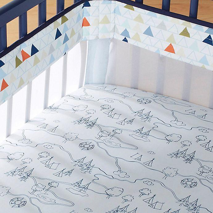 Just Born 174 Adventure Fresh Air Crib Liner Bed Bath And