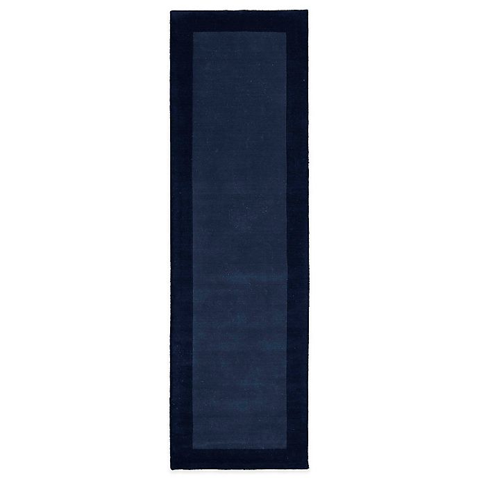 Alternate image 1 for Kaleen Regency 2-Foot 6-Inch x 8-Foot 9-Inch Runner in Blue