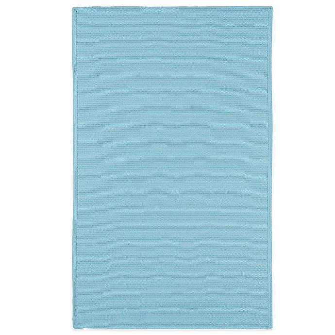 Alternate image 1 for Kaleen Bikini 2-Foot x 3-Foot Indoor/Outdoor Rug in Light Blue
