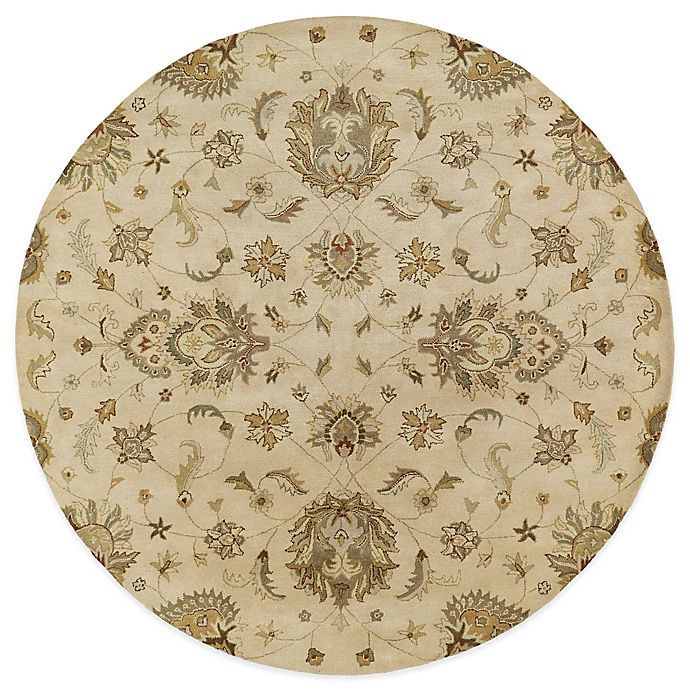 Alternate image 1 for Kaleen Mystic-Europa 5-Foot 9-Inch Round Rug in Ivory