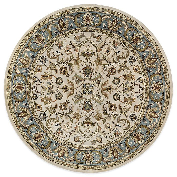 Alternate image 1 for Kaleen Mystic-William 7-Foot 9-Inch Round Area Rug in Ivory