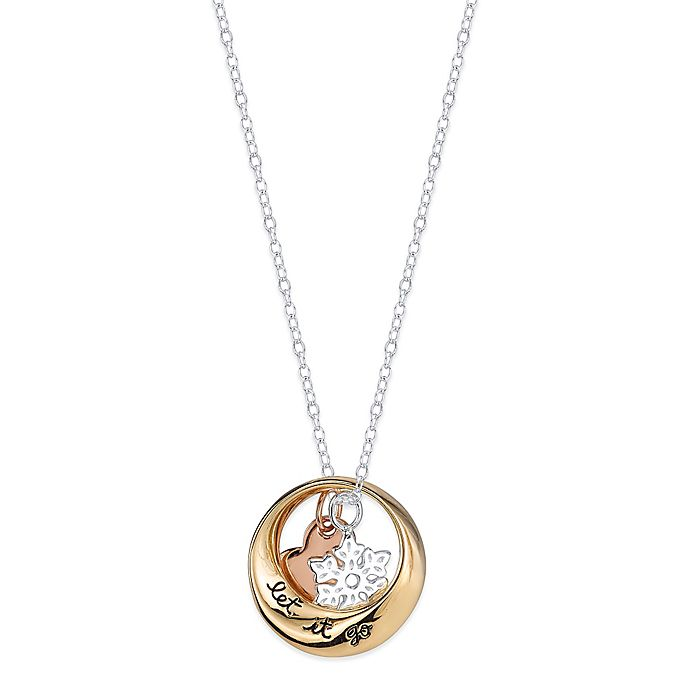 Disney® Frozen Sterling Silver Tri-Color Plated 18-Inch Chain